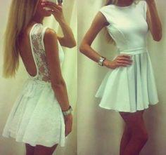 That nice white dress