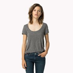HILFIGER DENIM Original - T-shirt - TOMMY BLACK - HILFIGER DENIM Tee-Shirts - image principale