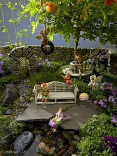 it's not a house without a fairy garden