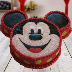 Order Mickey Mouse Chocolate Cake online from Cake Express and get home delivery any where in Delhi, Noida, Ghaziabad, Faridabad, Gurugram and Greater Noida. Mickey Mouse Chocolate Cake can be delivery in midnight . Order Kids Cakes online in Delhi NCR. Mickie Mouse Cake, Mickey Mouse Birthday Cake, Snoopy Birthday, Mickey Cakes, Mickey Minnie Mouse, Birthday Boys, Birthday Ideas, Pastel Micky Mouse, 15th Birthday Cakes