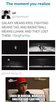 my heart literally just broke. whaaaaaaat the heck fandom!! why would you do this??? *tears* EXO OT12