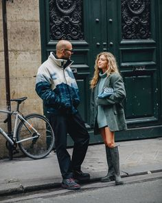 """Emili Sindlev on Instagram: """"My favorite person 💘"""" Matilda, Silhouette, Favorite Person, Couple Goals, Cool Girl, Raincoat, Winter Jackets, Hipster, Street Style"""