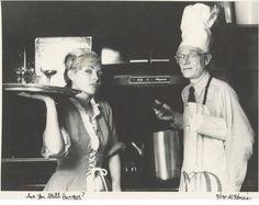 Harry the waitress, Warhol the chef. #truenewyork #lovenyc