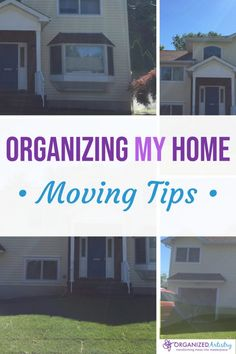 Organizing MY Home: Moving Tips to ensure a smooth experience Remodeling Companies, Home Remodeling Diy, Home Renovation, Organizing For A Move, Organizing Tips, Office Set, Moving Tips, Home Additions, Organization Hacks
