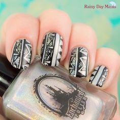 rainydaymanis #nail #nails #nailart
