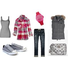 Casual in Converse, created by shauna-rogers.polyvore.com