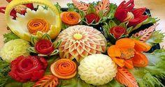 Carving Fruits and Vegetables - Thailand - Phuketitaly, Phuket Guide