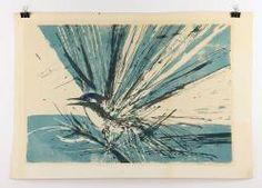 THIEBAUD, BIRD, SCREENPRINT 20th C. Modern Design and Fine Art Auction | Kaminski Auctions