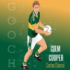 "@jgunt25 shared a photo on Instagram: ""Colm Cooper.  #kerry #keerrygaa #kerryfootball #gaa #gaafootball #gaaart #irish #irishsport…"" • See 423 photos and videos on their profile."