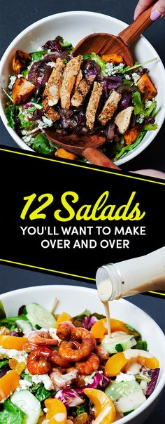 12 Salads Even Your Lazy Ass Can Make In 2017