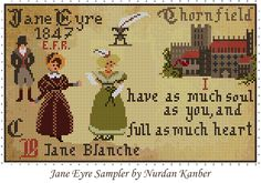 Jane Eyre Sampler by Nurdan Kanber