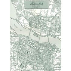 Another map of Arkham for Lovecraftian theme?
