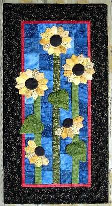 Sunflowers wallhanging