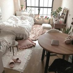 awesome college bedroom decor ideas and remodel page 6 tolle College Schlafzimmer Dekor Id College Bedroom Decor, Cool Dorm Rooms, Small Room Bedroom, Home Bedroom, College Bedrooms, Bedroom Apartment, Space Saving Bedroom, Cosy Apartment, Studio Apartment Layout