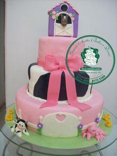 bolo fazendinha para menina