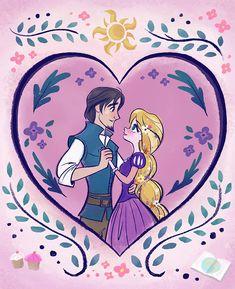 Rapunzel Y Flynn, Princesa Rapunzel Disney, Rapunzel Cosplay, Rapunzel And Eugene, Disney Tangled, Disney Love, Tangled Wallpaper, Wallpaper Iphone Disney, Cute Disney Drawings