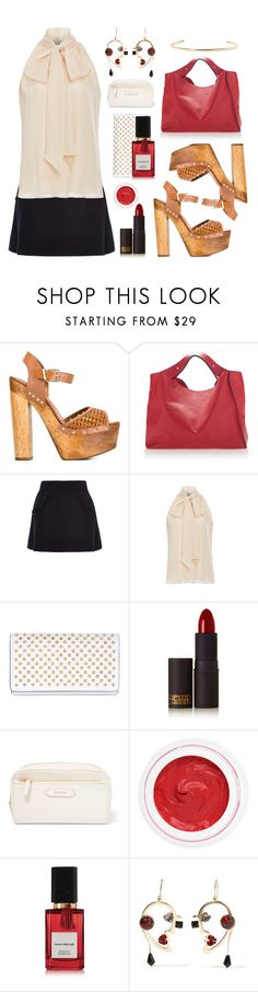 """A Day Away.... ( Top Set )"" by sue-mes ❤ liked on Polyvore featuring Marni, E L L E R Y, Prabal Gurung, Christian Louboutin, Lipstick Queen, Tom Ford, rms beauty, Diana Vreeland Parfums, Etro and Jennifer Fisher"