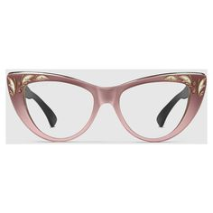 ecdd77afe9 Gucci Oversize Cat Eye Sunglasses ( 360) ❤ liked on Polyvore featuring  accessories