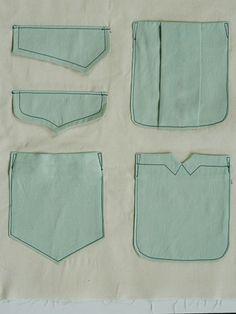 Negroni (Colette patterns) Pocket Variations, free Download