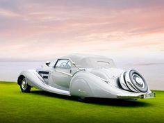 1937 Horch 85e Voll & Rurhbeck Sport Cabriolet