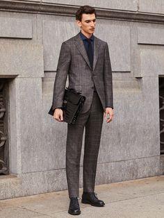 Suit with waistcoat wool silk linen - FW 2017 Collection | Corneliani