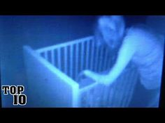 Top 10 Scary Moments Caught On A Baby Monitor - YouTube