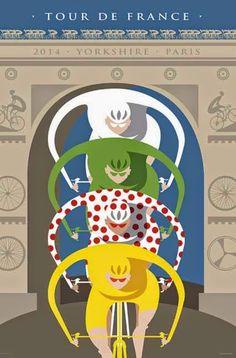 Le Tour de France by Michael Valenti