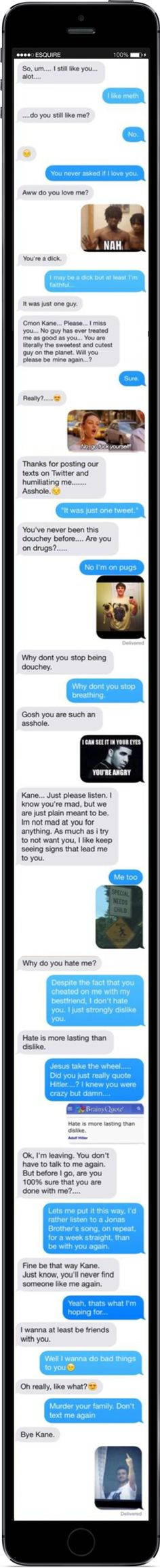 iPhone Meme Breakup  - Seventeen.com
