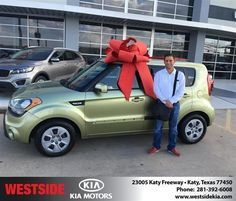 #HappyBirthday to Hector from Orlando Baez at Westside Kia!  https://deliverymaxx.com/DealerReviews.aspx?DealerCode=WSJL  #HappyBirthday #WestsideKia