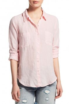 Rahani Linen Button Down Shirt   | Calypso St. Barth