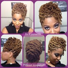 Pin Up Hairstyles For Dreadlocks Dreadlock Styles, Dreads Styles, Dreadlock Hairstyles, Cool Hairstyles, Wedding Hairstyles, Wedding Updo, Black Hairstyles, Latest Hairstyles, Natural Hair Care