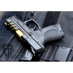 Fortified Smith & Wesson M&P Compact Shark Gill #tinbarrel #portedslide