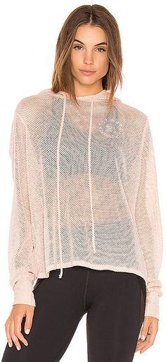 SPECIALMAGIC Mesh Jacket Women Fishnet Cover-up Relaxed Fit Long Sleeve Zipped Full Hooded Jacket