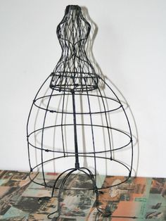 14 Inch Wire Dress Form with Hoop Skirt
