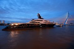 Superyacht EQUANIMITY Night