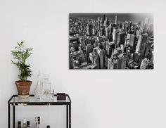 Découvrez «Skyline Chicago», Édition Numérotée Oeuvres sous Verre par Claude Gariepy - À partir de 65€ - Curioos