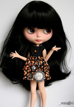 ༻✿༺ ❤️ ༻✿༺ I love the long black hair on this BEAUTIFUL doll‼️༻✿༺ ❤️ ༻✿༺
