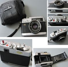 1975 Vintage Fujica Date Chrome Point/Shoot 35mm Viewfinder Camera Fujinon2,8/38