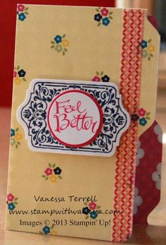 www.createwithbev.blogspot.com from: Vanessa Terrell Envelope Punch Board and File Folder Cards