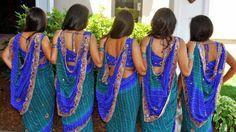 17 Pretty Perfect Bridesmaid Sarees - Aisle Perfect ®