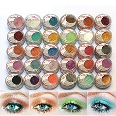 Brand New 30 Pcs Mulit Color Cold Smoked Warmer Glitter Shimmer Pearl Loose Eyeshadow Pigments Mineral Eye Shadow Dust Powder Makeup Party Cosmetic Kit BE * This is an Amazon Affiliate link. For more information, visit image link.