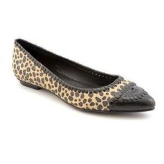 Jack Rogers Womens Carla Flat Leather Casual Shoes