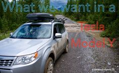 Dear Tesla Motors: My family lives in a mountainous region of BC, Canada called the Kootenays. The venerable Subaru is kind of the unofficial car of our region for a number of good reasons. Leaf Electric Car, Electric Cars, Nissan Leaf, Tesla Motors, Posts, Vehicles, Blog, Design, Messages