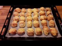 YouTube Savory Pastry, Muffin, Appetizers, Baking, Breakfast, Recipes, Food, Pastries, Youtube