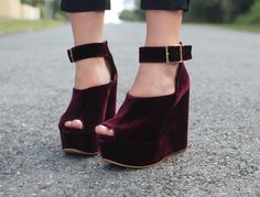 velvet - #shoesdaytuesday - http://blog.missesdressy.com/shoesday-tuesday-ny-fashion-week-footwear.html