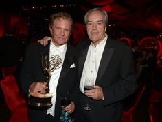 Tom Berenger and Powers Boothe at event of The 64th Primetime Emmy Awards