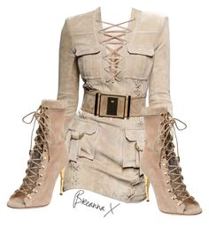 """Untitled #2891"" by breannamules on Polyvore featuring Balmain"