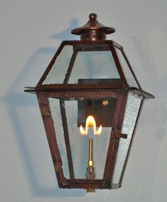 Could be cool out front/Just need to make sure have gas hookup....Copper Gas Lanterns