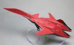 """「エースコンバット2」に登場した、ADF-01""""Z.O.E.""""を作りました。 A..."""