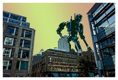 The Iron Giant, Robots, Times Square, Sci Fi, Star Wars, Travel, Science Fiction, Viajes, Robot